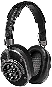 Master & Dynamic MH40 Over-Ear, Wired Headphones with Genuine Lambskin Ear Pads, Gunm