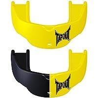 TAPOUTマウスピース 黄色+黒/黄【フリーサイズ】【並行輸入品】