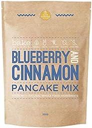 Blueberry & Cinnamon Pancake Mix (Gluten Free, Ve