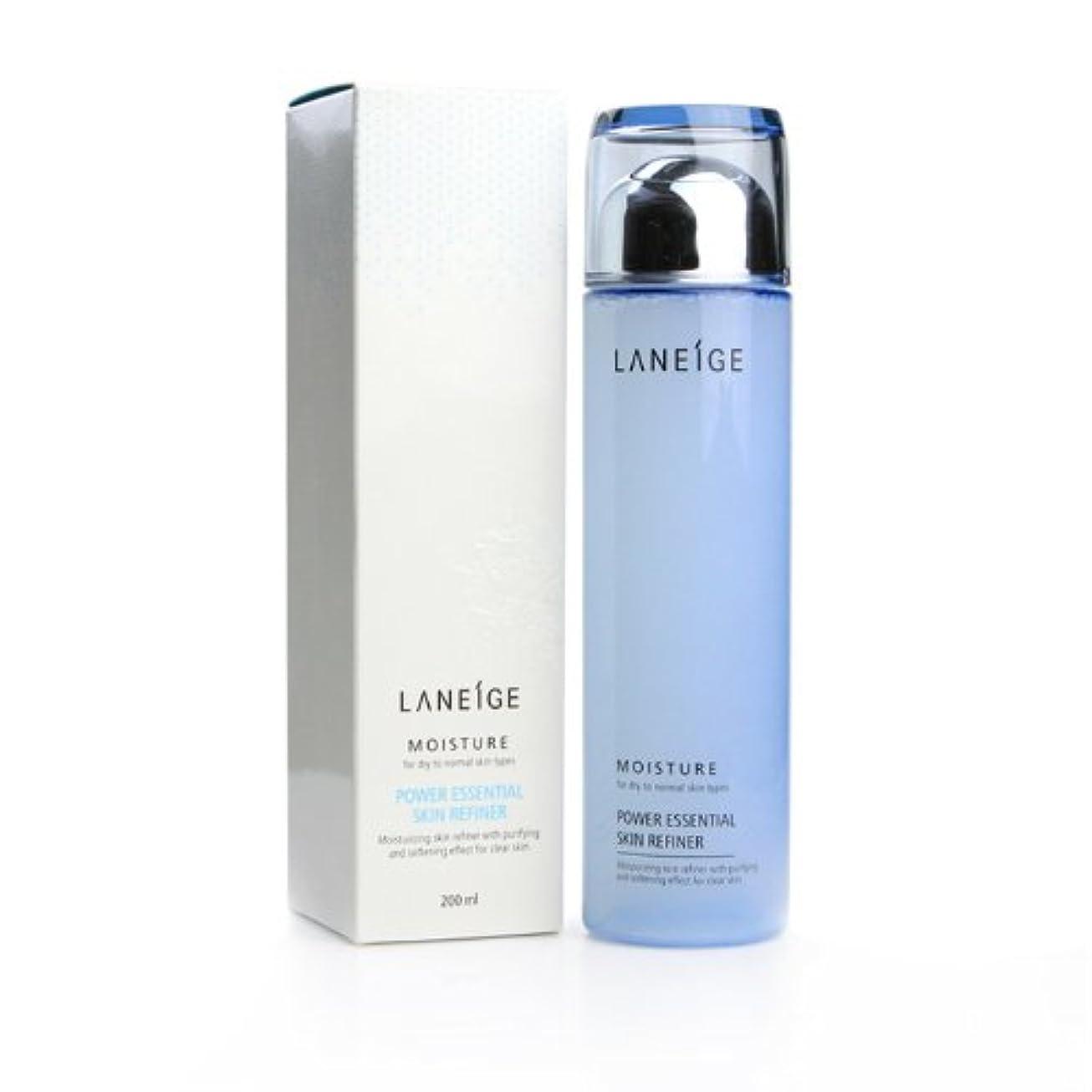 スタジオ器官遺伝的LANEIGE ラネージュ パワー エッセンシャル スキン リファイナー モイスチャー power essential skin refiner 200ml [並行輸入品]