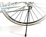 ROCKBROS(ロックブロス)自転車 キックスタンド 取り外し可能 バイク スティック スタンド クイックアップスタンド (ブラック(炭素繊維))