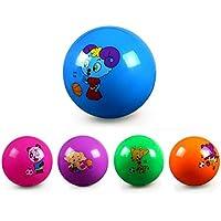 YChoice 可愛い赤ちゃんのおもちゃ ギフト 子供の遊びボール ベビーカートゥーンハンドル 膨らませるボール 膨らませるボール おもちゃ