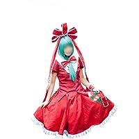 東方Project   鍵山雛風 コスプレ衣装 コスチューム ハロウィン、クリスマス、イベント、お祭り仮装など (女性LL, 衣装+ウィッグ)