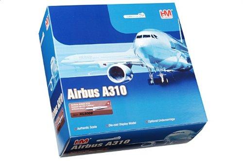 """1:200 ホビー マスター 航空 シリーズ HL6008 エアバス A310 ダイキャスト モデル Swissair HB-IPK """"Liestal""""【並行輸入品】"""