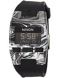 [ニクソン]NIXON COMP S: MARBLED BLACK/WHITE NA3362193-00 レディース 【正規輸入品】