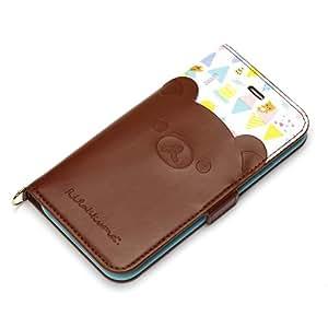 サンエックス iPhone6s/6専用 フリップカバー ポケット付き (リラックマ) YY01008