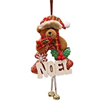 Jiusike Christmas Ornaments Home Furnishing Hang Decoration Tree Ornaments Toy Doll (C) [並行輸入品]