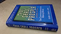 Thou Shall Prosper: Ten Commandments for Making Money by Rabbi Daniel Lapin(2009-10-26)