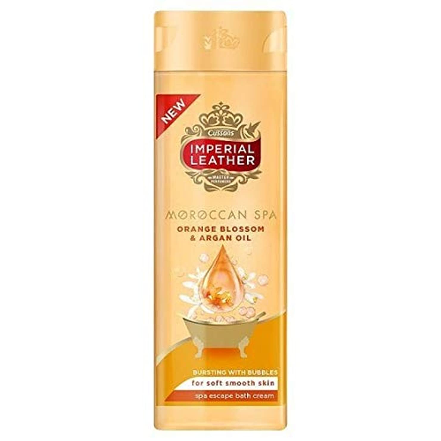 [Imperial Leather ] 帝国革モロッコスパバスクリーム500ミリリットル - Imperial Leather Moroccan Spa Bath Cream 500ml [並行輸入品]