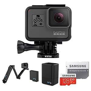 【国内正規品】 GoPro ウェアラブルカメラ HERO5 Black + HERO5 周辺アクセサリ + Samsung microSDXCカード 128GBセット