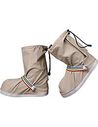 Zeroire 雨用靴カバー 防水シューズカバー シューズカバー 冬 雪 雨 梅雨対策 レインブーツ 防水 靴 レインカバー