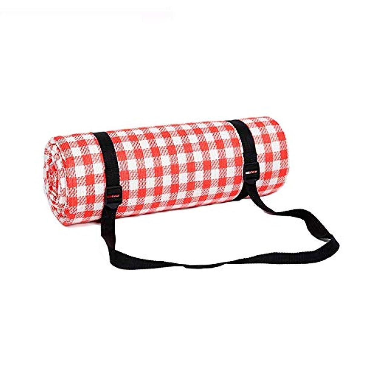挨拶リゾート空ピクニック毛布、ポータブル防水スリーピングマット芝生マット屋外ビーチキャンプキャンプマット (色 : A)