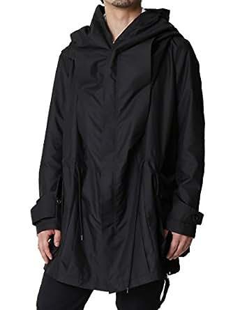 (アズスーパーソニック) AS SUPER SONICモッズコート モード デザインコート ミリタリー 日本製 F ブラック
