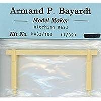 Armand P. Bayardi 1:32 1:35 54mm ヒッチレール 樹脂製 ジオラマアクセサリー #WW32/103