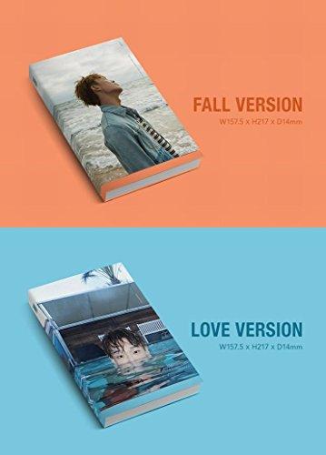 2枚セット【早期購入特典あり】 iKON BOBBY LOVE AND FALL 1st ソロ アルバム (初回ポスター×2枚)( 韓国盤 )(初回限定特典6点)(韓メディアSHOP限定)