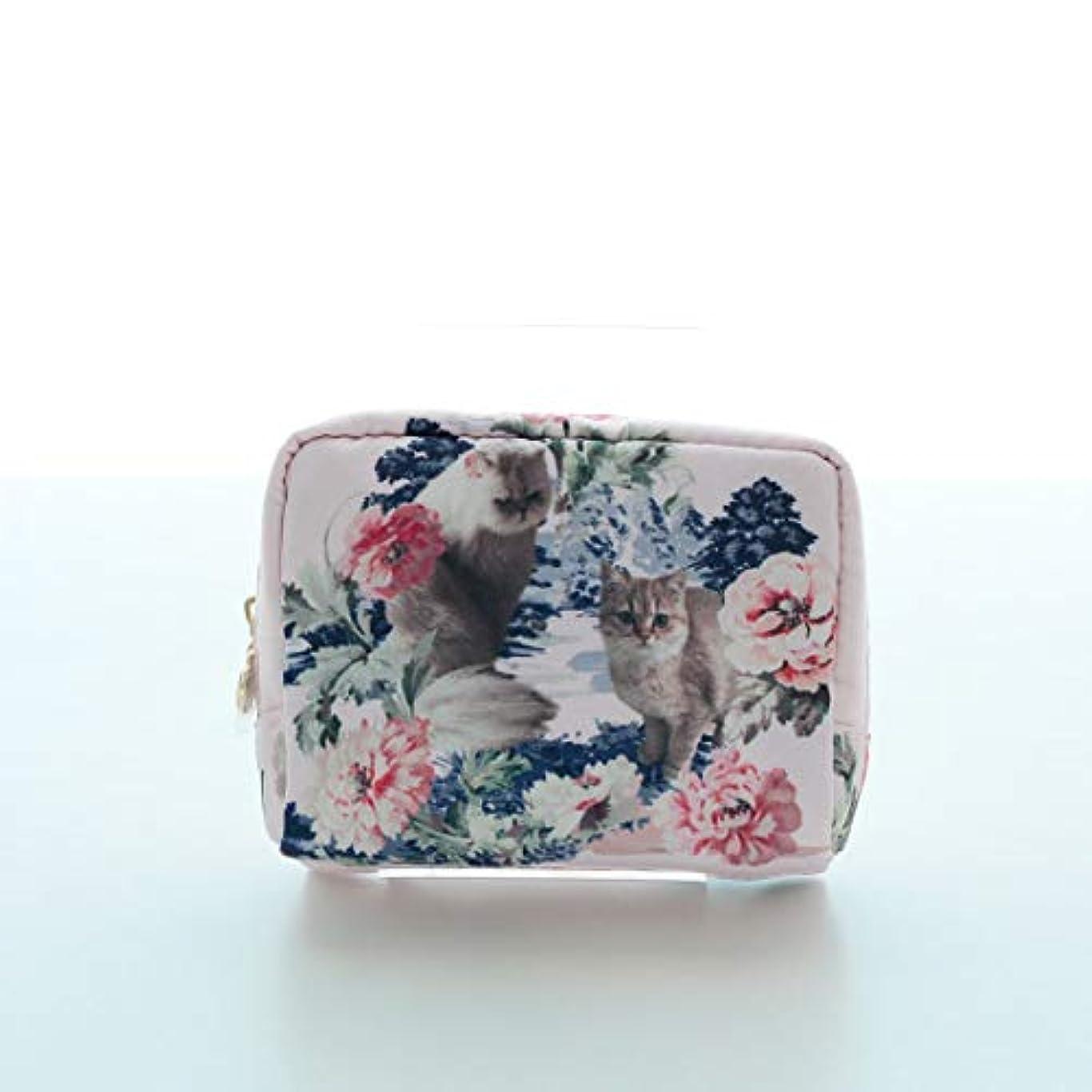 フラップスクリーチ自治的ポール&ジョー レディース 化粧ポーチ (ピンク) 花柄 婦人 ポーチ ポールアンドジョー PAUL&JOE ACCESSOIRES 107501-9501-01