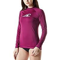 Tesla Women's UPF 50+Swim Shirt Rashguard Long Sleeve
