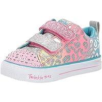 Skechers Shuffle Lite - Leopard Cutie Girls Sneakers, Pink/Multi
