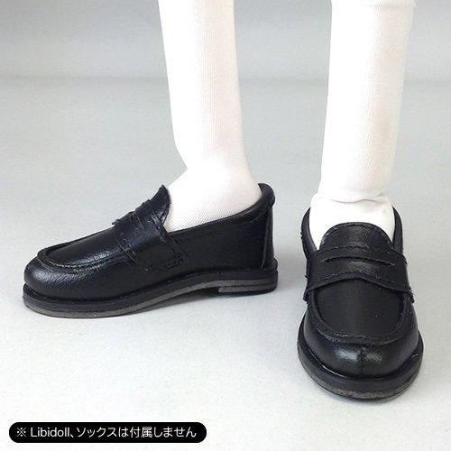 ローファー 黒(ドール用衣装)
