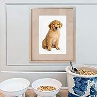 犬ポスター動物キャンバス絵画ギフト用ペット壁アート写真用犬ルームペットショップ家の装飾-40×60センチ×1個フレームなし
