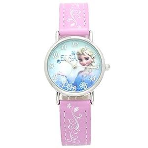 [コスミック]COSMIC Disney(ディズニー) 腕時計 アナと雪の女王 FROZEN エルサ キューティーウォッチ ピンク WW14078-PK ガールズ 【正規輸入品】