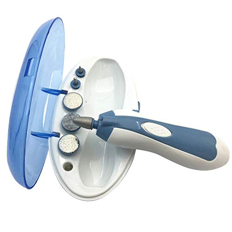 起きるフィードオンパックグレファイディンポリッシャーネイルマシン多機能360度回転電気マニキュアマニキュアマシン