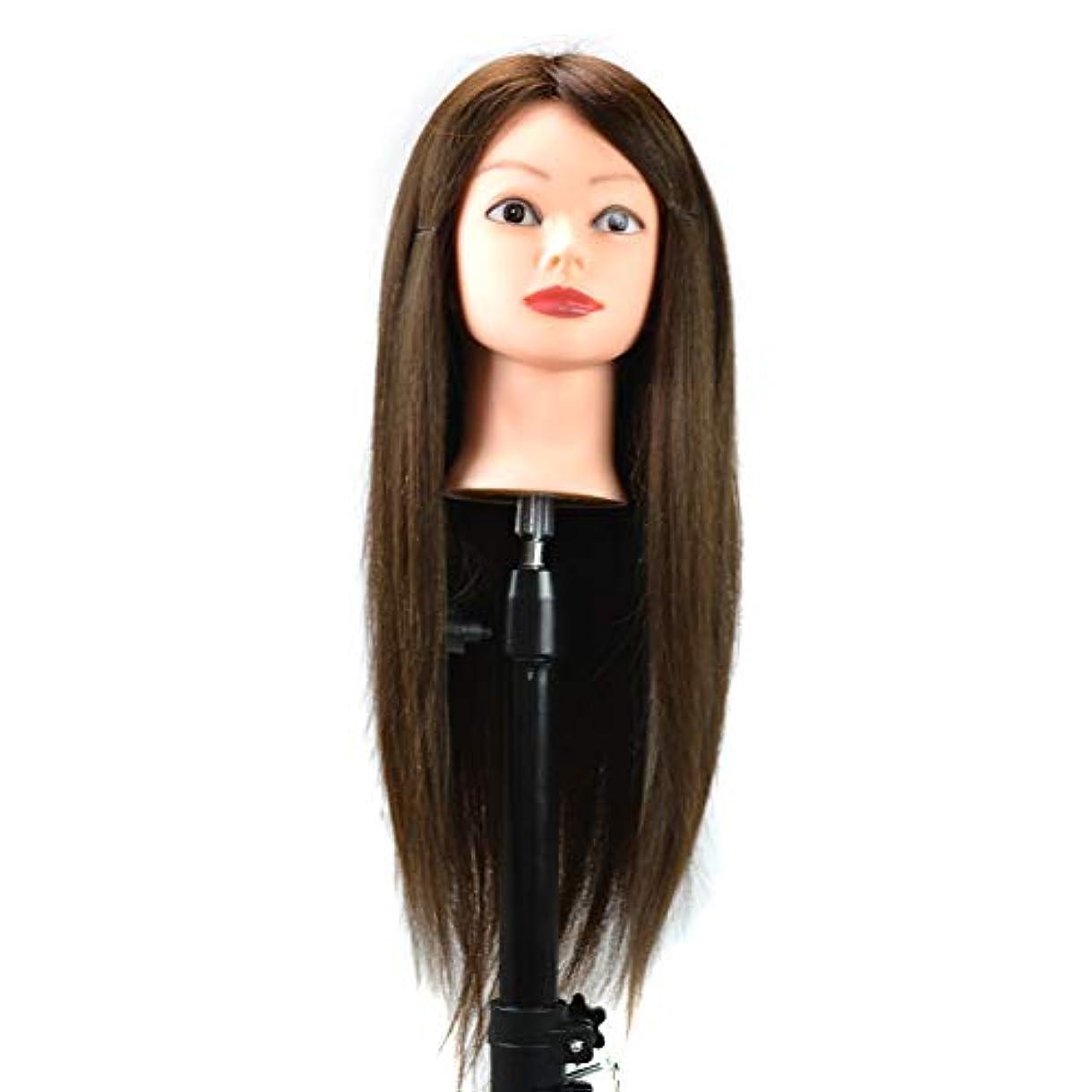 サイレント印をつける取り囲むスタイリング編組ダミーヘッドトレーニングヘッドディスクヘアーメイクアップウィッグマネキンヘッドにすることができますヘアカール人間の髪の練習ヘッドモールド
