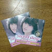 松田聖子 sweet daysフライヤー2枚セット