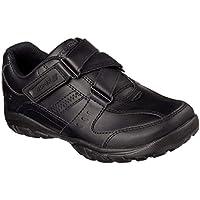 Official Brand Skechers BTS Zeem Shoes Childs Boys Black Kids Footwwear