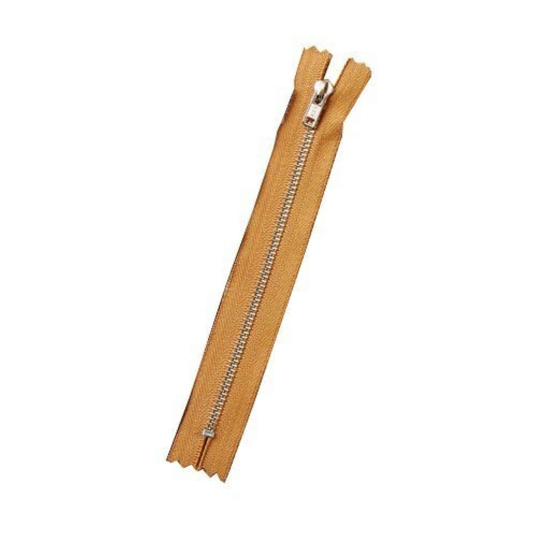 クラフト社 ファスナー12cm 焦茶 8783‐02