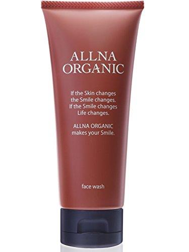 オルナ オーガニック 洗顔 無添加 洗顔フォーム 「 泡 で 毛穴 黒ずみ を徹底対策する 抗菌 洗顔料 」「 コラーゲン 3種類 + ヒアルロン酸 4種類 + ビタミンC 4種類 + セラミド 配合」100g