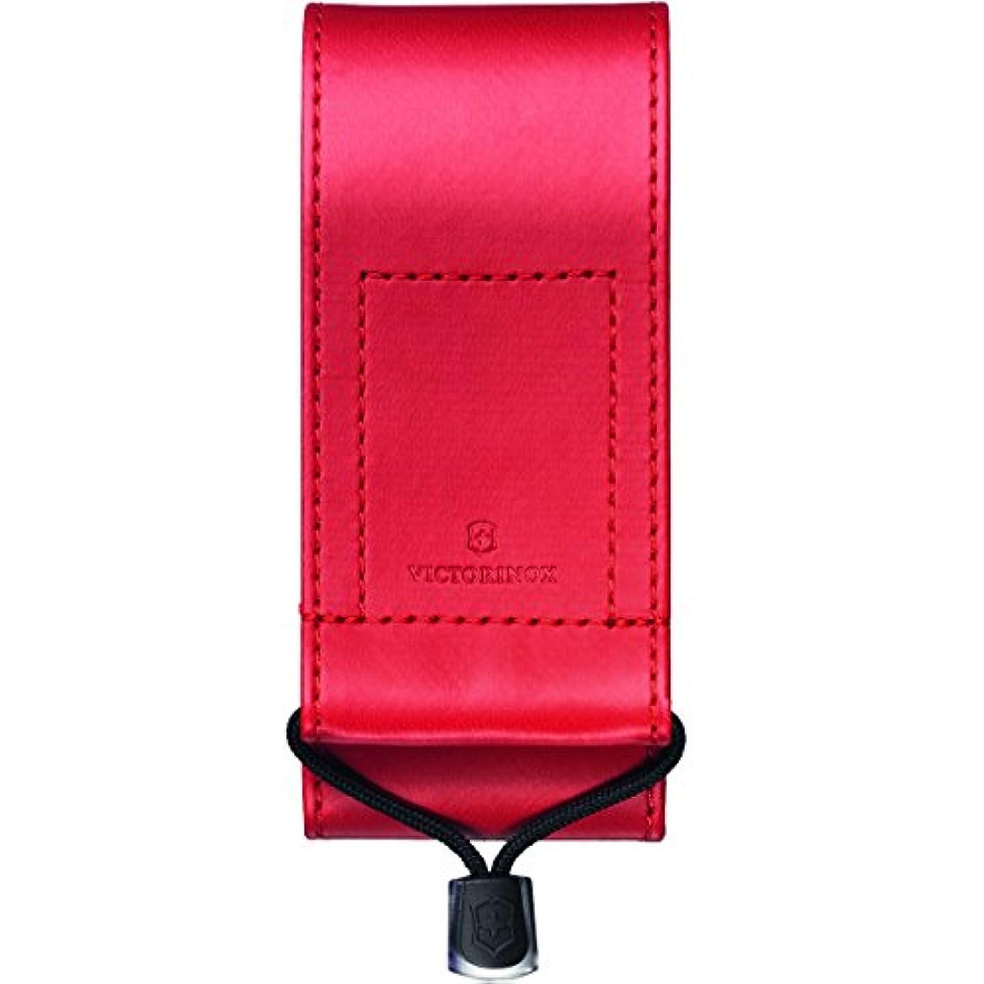 無数のパスポート火山VICTORINOX SYNTHETIC LEATHER POUCH FOR SWISS OFFICER KNIFE 111(RED)