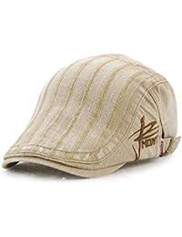 キャスケット ハンチング帽 ハワイ 旅行 オシャレ カジュアル レディース メンズ 調節可能 アウトドア UVカッド(4カラー)