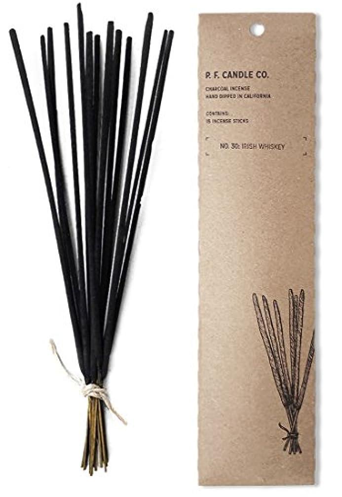 ペンダントグラス福祉p.f. Candle Co。No。30 : Irish Whiskey Incense (2 - Pack)