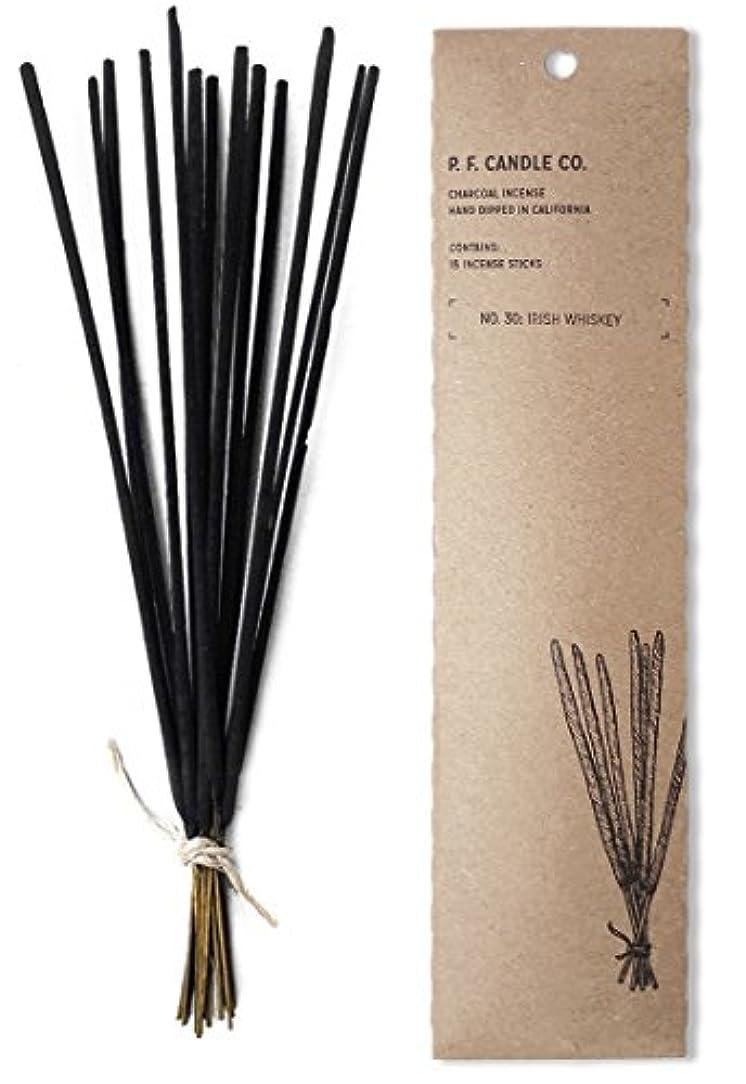 冷笑する項目アコードp.f. Candle Co。No。30 : Irish Whiskey Incense (2 - Pack)