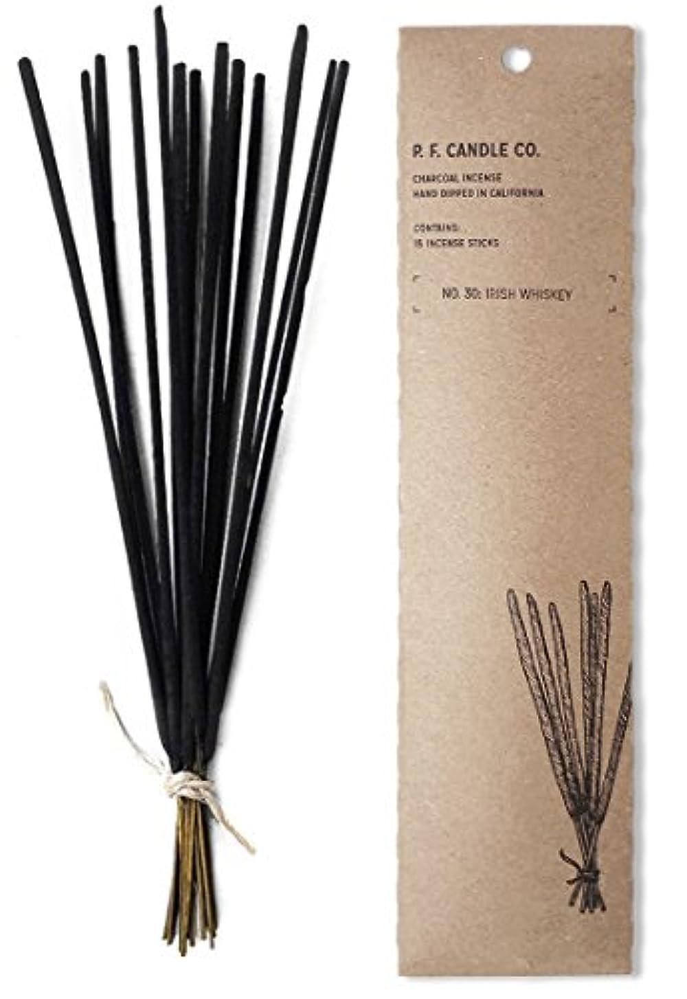 レコーダーローブ好戦的なp.f. Candle Co。No。30 : Irish Whiskey Incense (2 - Pack)