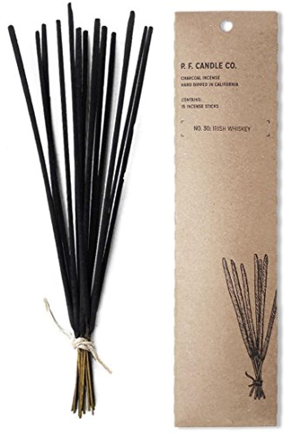 マオリフットボール厚いp.f. Candle Co。No。30 : Irish Whiskey Incense (2 - Pack)