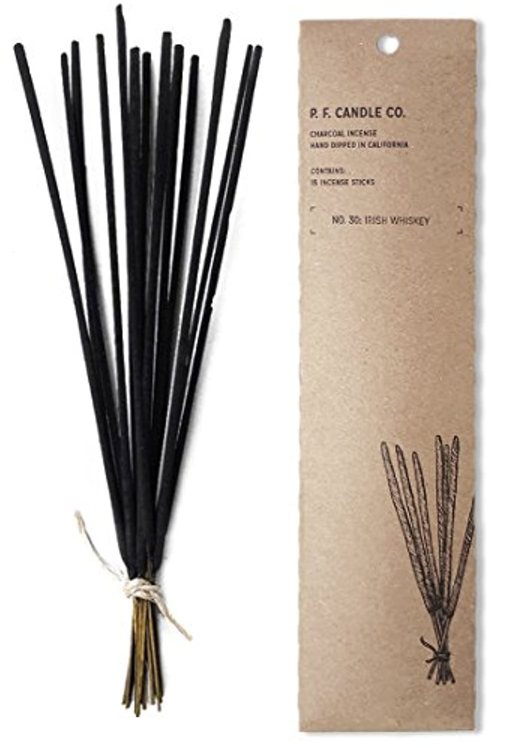 p.f. Candle Co。No。30 : Irish Whiskey Incense (2 - Pack)