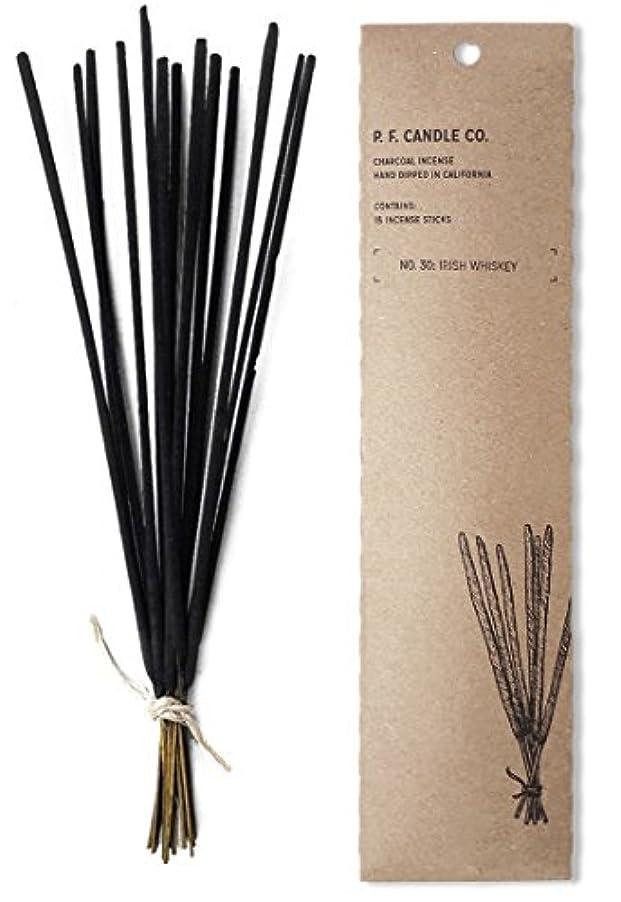 進む道を作るむちゃくちゃp.f. Candle Co。No。30 : Irish Whiskey Incense (2 - Pack)