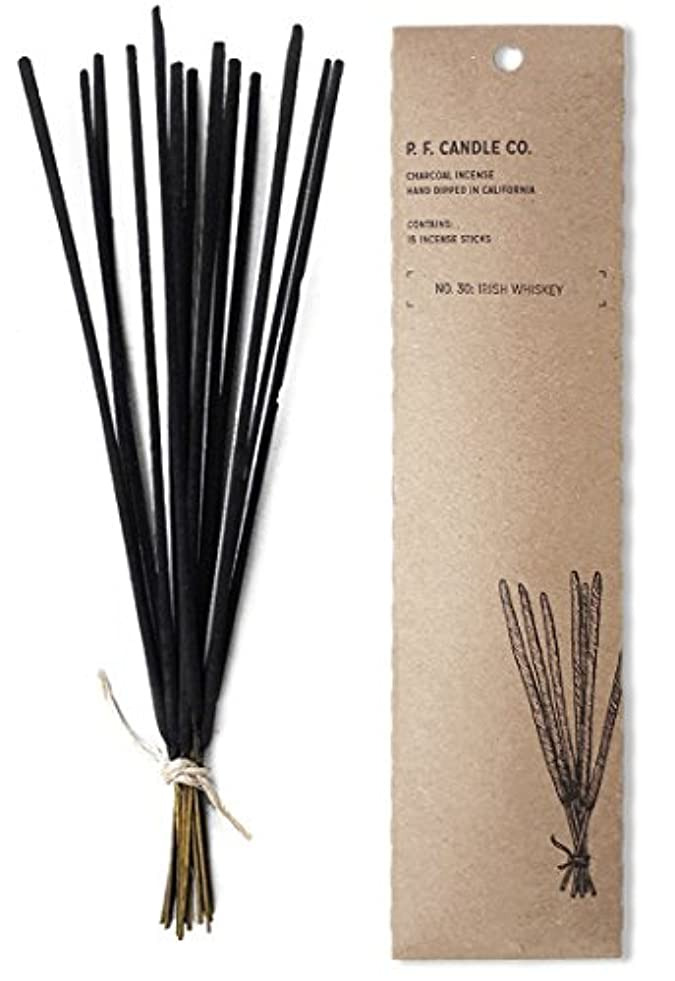 商業の耐える手紙を書くp.f. Candle Co。No。30 : Irish Whiskey Incense (2 - Pack)