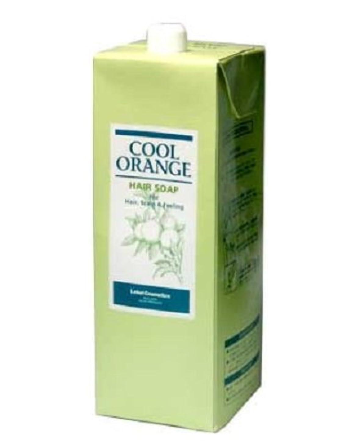 行商浴冷淡なルベル クールオレンジヘアソープ 1600ml レフィル