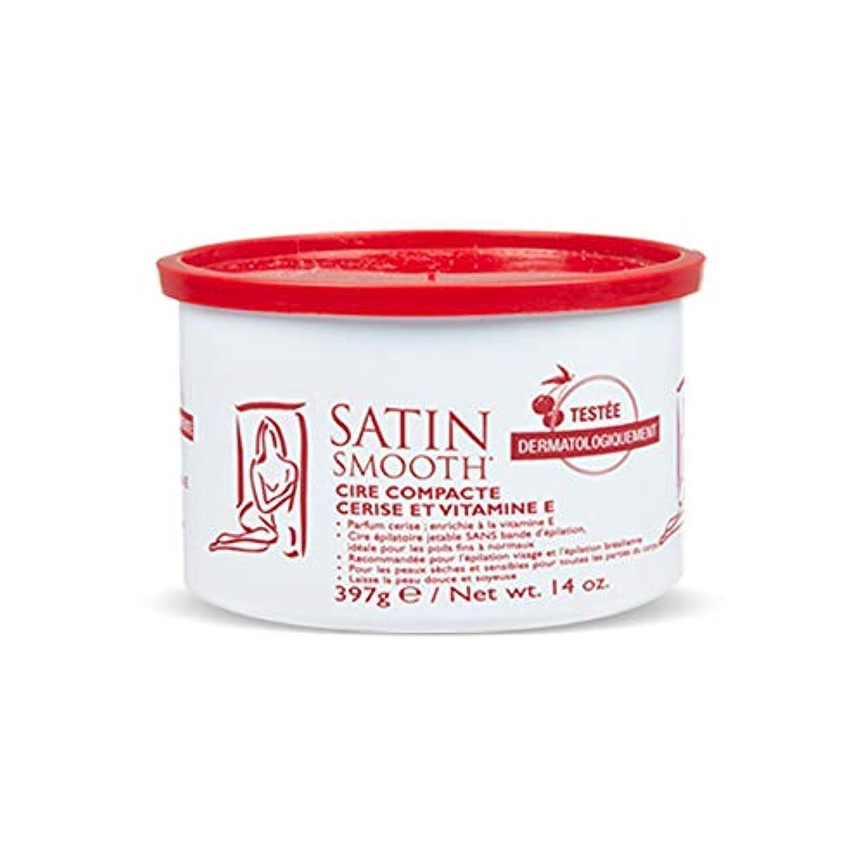 フレア他に導入するSatin Smooth Wild Cherry Hard Wax with Vitamin E, 14 oz. 141[並行輸入]