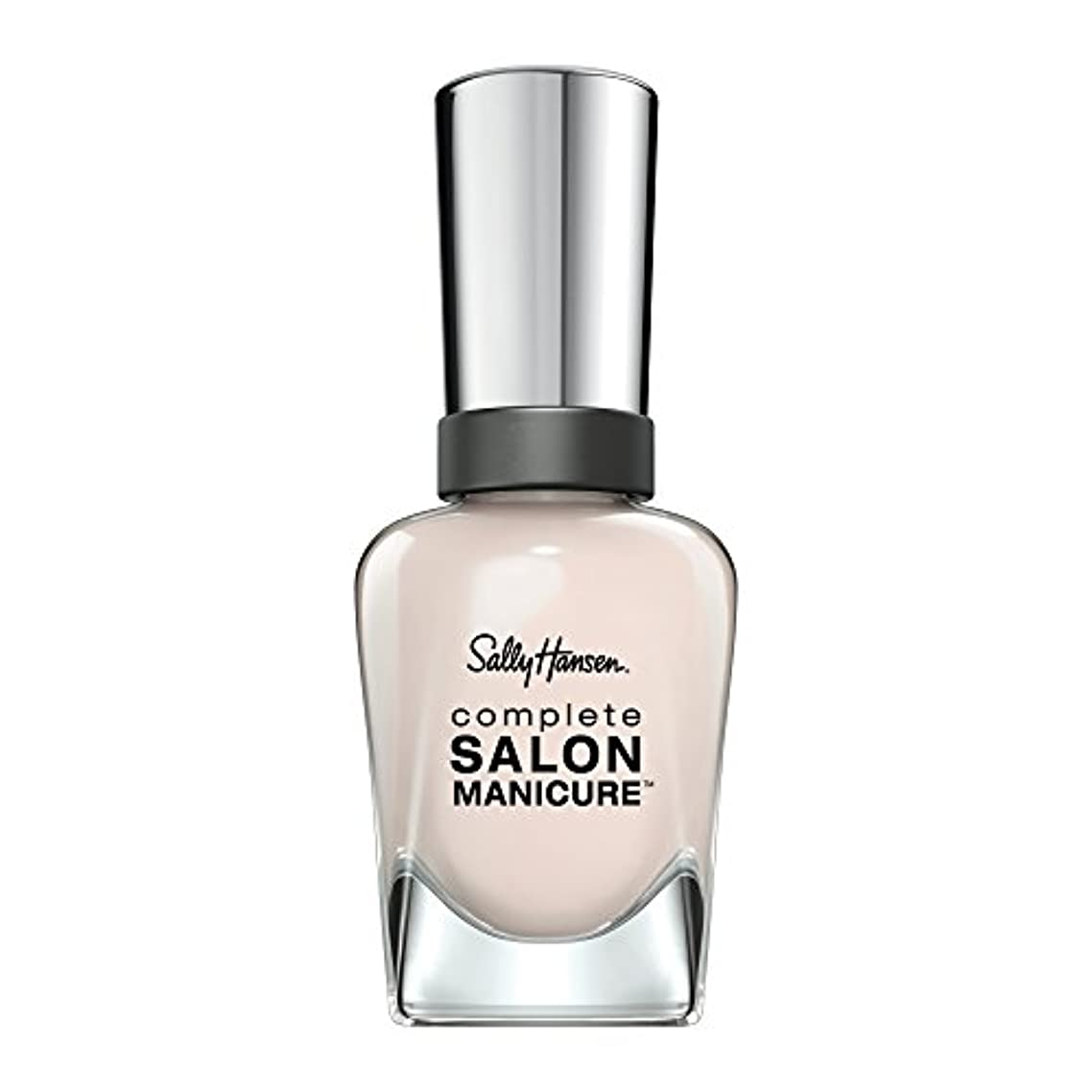 後方ラジウム欺くSALLY HANSEN COMPLETE SALON MANICURE NAIL COLOR #200 SHEER ECSTASY