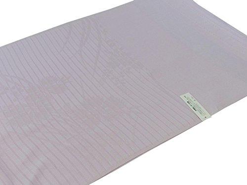 正絹 夏の絽 帯揚げ 地紋柄入り 紫