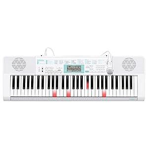 カシオ 電子キーボード61標準鍵 光ナビゲーションキーボード LK-128