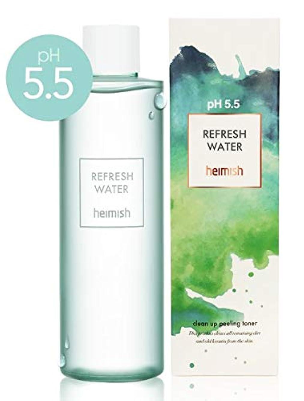後方白鳥束ねるHeimish pH5.5 Refresh Water/ヘイミッシュリフレッシュ ウォーター 250ml [並行輸入品]