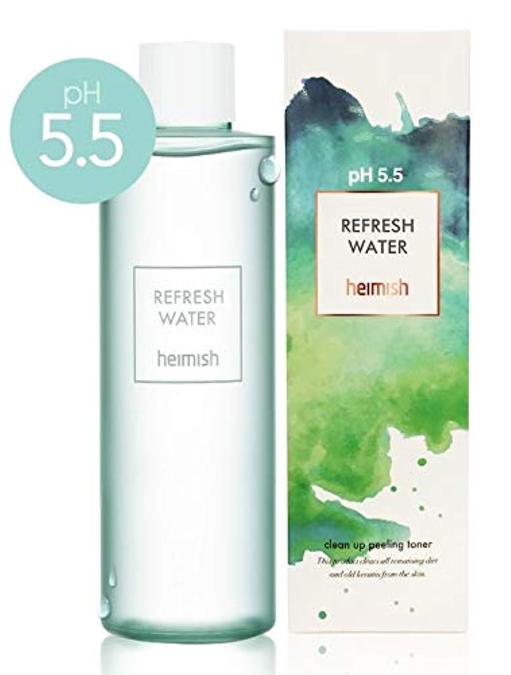 十二スケルトン依存Heimish pH5.5 Refresh Water/ヘイミッシュリフレッシュ ウォーター 250ml [並行輸入品]