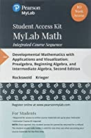 MyLab Math for Developmental Mathematics with Applications and Visualization: Prealgebra Beginning Algebra and Intermediate Algebra - 12-Week Student Access Card (2nd Edition)【洋書】 [並行輸入品]