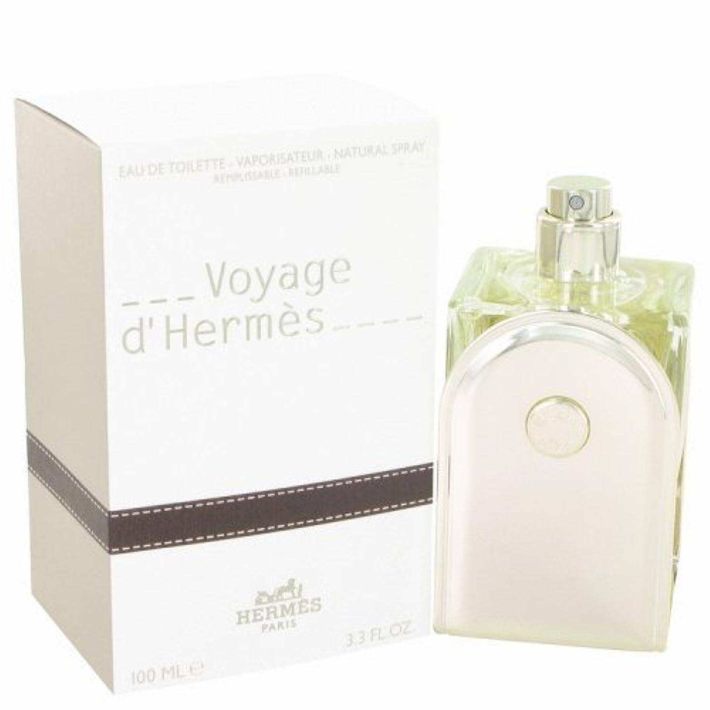 追加閉じるクラシカルHermes Voyage for Men 3.3oz 100ml ホワイト 26214