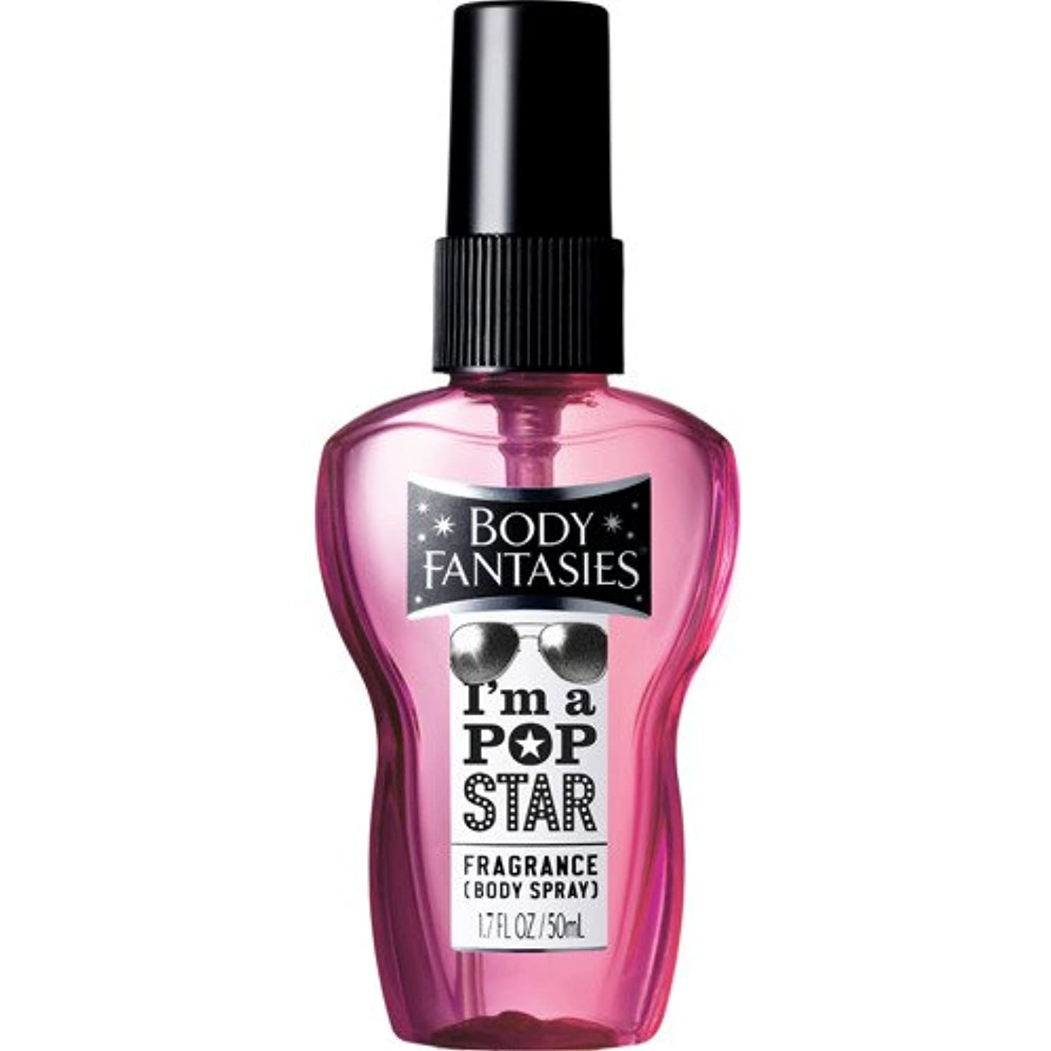 粘土年曲線ボディファンタジー ボディスプレー I'M A POP STAR 50ml